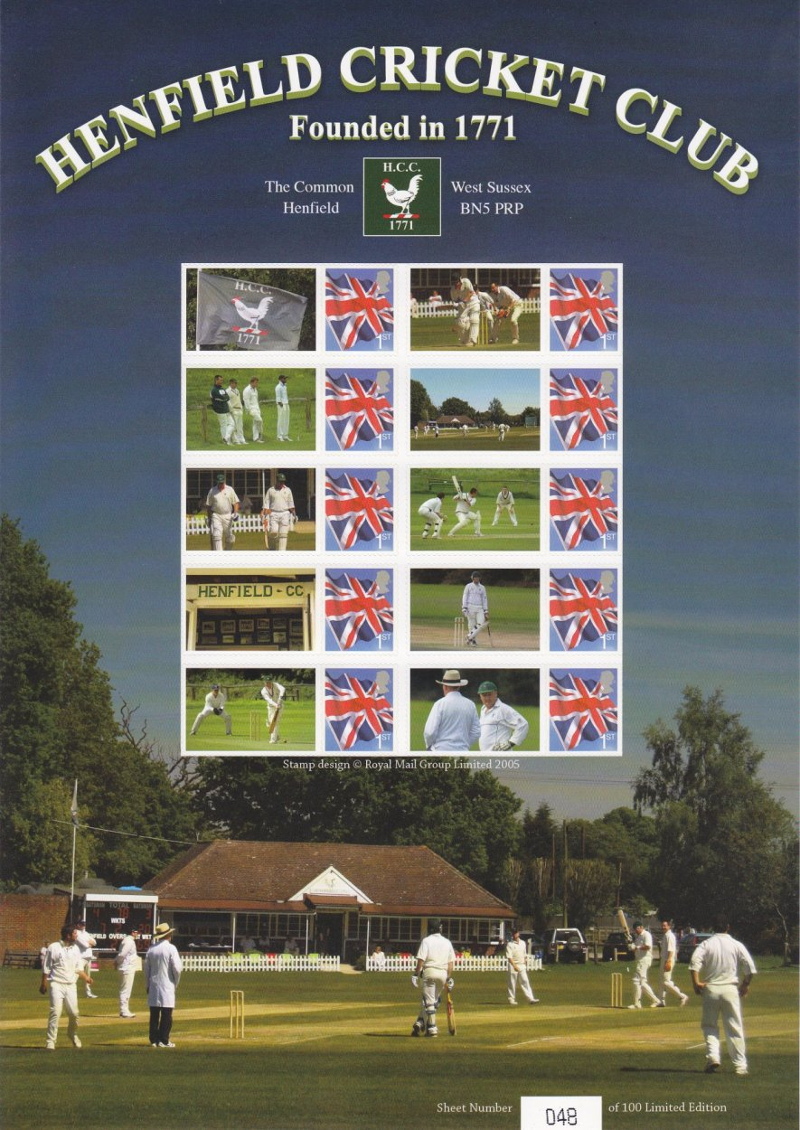 Henfield Cricket Club - Planet Prints
