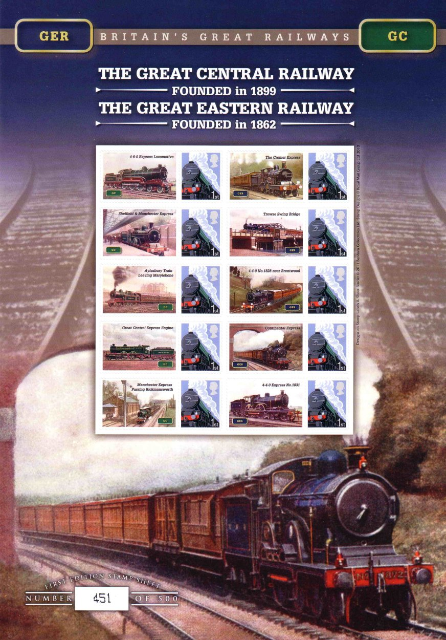 Great Central and Eatern Railways - Benham