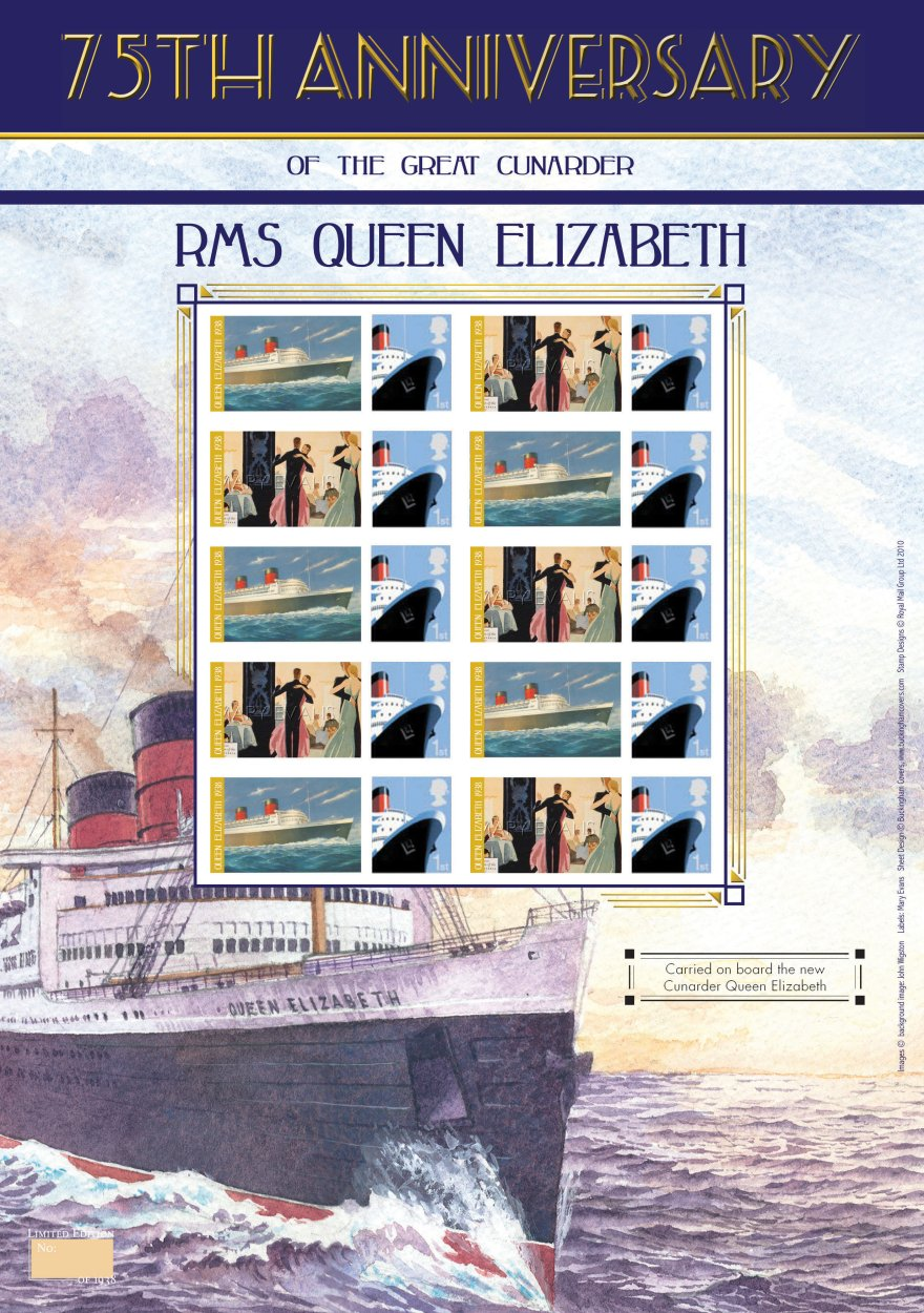 75th Anniversary of RMS Queen Elizabeth
