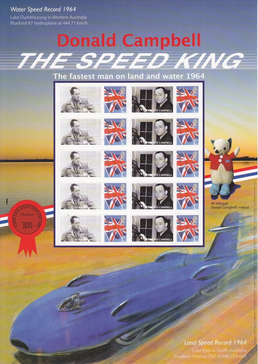 Donald Campbell - The Speed King - Buckingham