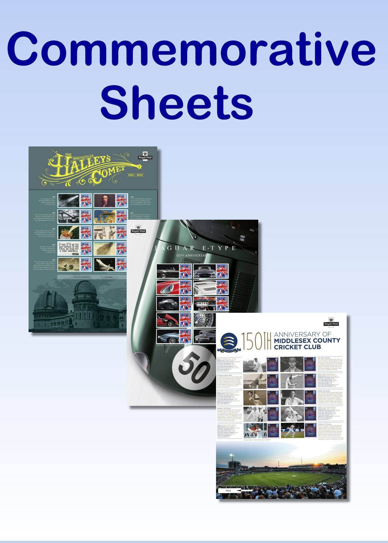 Commemorative Stamp Sheets