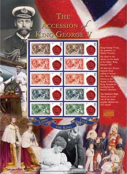 The Accession of King George V - Buckingham
