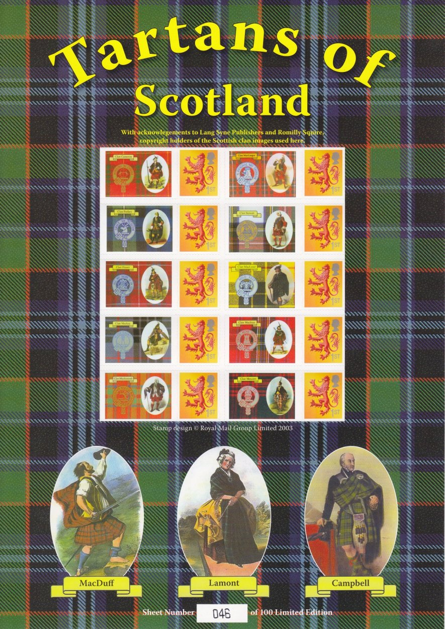 Tartans of Scotland - PPS