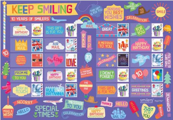 London 2010 Festival of Stamps - Generic Sheet