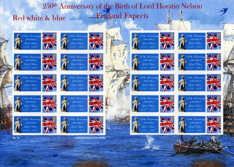 250th Anniv. Birth of Lord Nelson